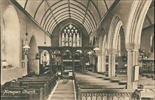 Mawgan, Church Interior  vintage pc    qq1204