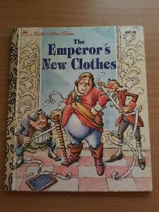 Little Golden Book - The Emperor's New Clothes 1994 HC
