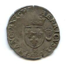 FRANCE HENRI II (1547-1559) DOUZAIN AUX CROISSANTS 1550 R St ANDRE DE VILLENEUVE