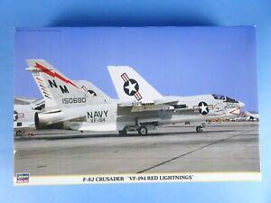 HASEGAWA F-8J CRUSADER VF 194 RED LIGHTNINGS 1/48