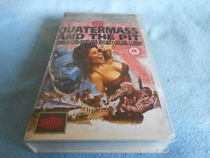 Classic Horror Movie VHS - Hammer Horror - QUATERMASS & THE PIT - 1967