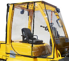 Forklift Rain Cover Cabin PVC Brand New Clear Fits 6000 to 12000 LBS