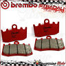 4 PLAQUETTES FREIN AVANT BREMBO SA ROUGE FRITTE 07BB26SA BMW K 1300 GT 2009