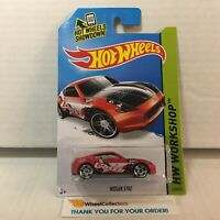 Nissan 370Z #249 * RED * 2014 Hot Wheels * YA18