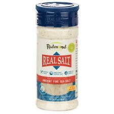 Redmond Real Sea Salt - Natural Unrefined Organic Fine, 10 Ounce Shaker