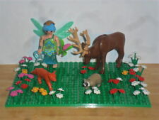 PLAYMOBIL - FAIRY WITH 3 WOODLAND CREATURES AND ACCESSORIES