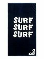NWT Roxy Beach Towel Navy Blue Pretty Simple Logo Beach Hawaii Surf Surf Surf