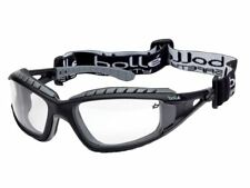 Bolle Tracker Safety Glasses Spectacles Vented Clear Lens TRACPSI