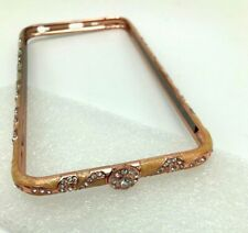 Luxury Crystal Diamond Metal Case Bumper Rose Gold For iPhone 6/6s Plus New