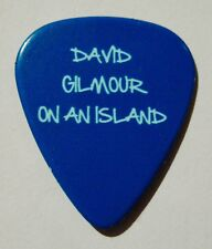 "DAVID GILMOUR-PINK FLOYD-Rare Promotional Guitar Pick For ""ON AN ISLAND"""
