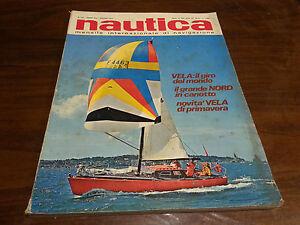 Rivista Nautica giornale NAUTICA anno XIII  n° 147 Giugno 1974