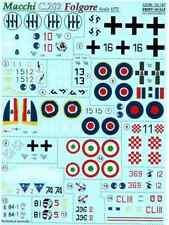 DECAL 1/72 FOR MACCHI C.202 FOLGORE 1/72 PRINT SCALE 72-197