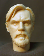 "CUSTOM EWAN McGREGOR STAR WARS HEAD SCULPT. Action figures 1/6 scale. 12"" ST-31"