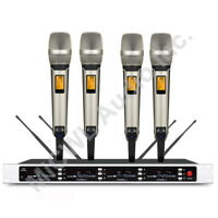 MiCWL SKM9000 Wireless Microphones System - 4 Champagne Golden Limited Edition