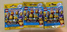 Lot Of 3 LEGO 71009 Minifigure Series 2 The Simpsons NEW Random Pick Blind Bags
