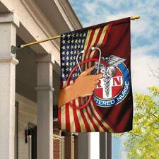 New listing Registered Nurse Flag New Garden House Flag Wall Flag