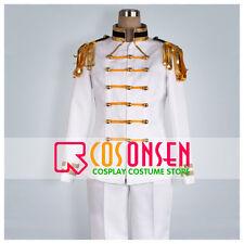 Cosonsen APH Axis Powers Hetalia Japan Cosplay Costume White Formal Uniform