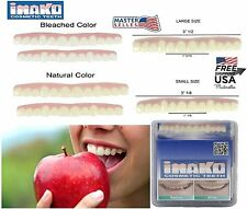 Cosmetic Upper Teeth Snap On Secure Smile Instant Veneers Dental Natural Cover