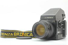 """""""Near Mint+++"""" BRONICA GS-1 + AE Prism Finder + PG 65mm F/4 Lens From JAPAN #863"""
