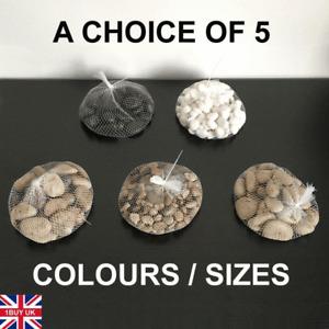 1kg Assorted Natural Decorative Stones Pebbles Aquarium Decoration Vase Garden