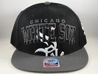 830504079 Chicago White Sox Black MLB Hat Genuine Merchandise SnapBack Cap | eBay