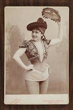 Mlle Debriège, Actrice Théâtre, Cabinet card, Photo Nadar Paris
