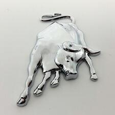Bull Emblem 3D Moto Decal Metal Badge Motorcycle Sticker Harley Lamborghini Auto