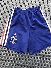 Short bleu FFF / Adidas / Fédération Française de Foot / Taille 4 Ans