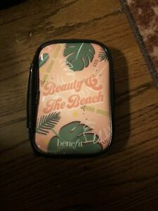 """Benefit Cosmetics Cosmetic Makeup Bag """" Beauty & The Beach """" LIMITED EDITION"""