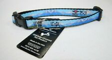 """Buckle Down Plastic Clip Pet Collar Landscape Snowy Mountains 8-12"""" Neck T3"""