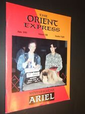 The Orient Express June 1991 Vol 8 No 8 Pekingese Photographs & Articles