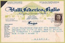 LUGO - Valli Federico e Figlio 1938