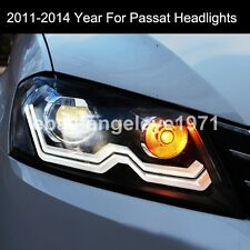 2011-2014 Year For VW European Version Passat B7 LED Strip Head Lights Lamp LDV2