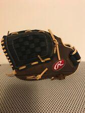 "Rawlings Lefty Baseball Glove 12.5"" Rbg36Bc Leather Left Hand Throw New"