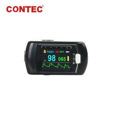 24h SpO2 PR Fingertip Pulse Oximeter Sleep Recorder blood Oxygen Monitor+Battery
