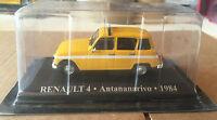 "DIE CAST "" RENAULT 4 - ANTANANARIVO - 1984 "" 1/43 TAXI SCALA 1/43"