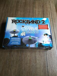 Double Cymbal Kit Rock Band 2 Drums Xbox 360 PlayStation PS3 & Nintendo Wii