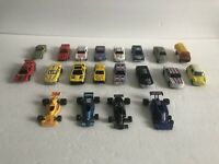 Miscellaneous Unbranded Vintage Toy Car Lot - 20 total Cars