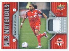 "DWAYNE DE ROSARIO ""PATCH CARD 49/50"" UD MLS SOCCER 2011"