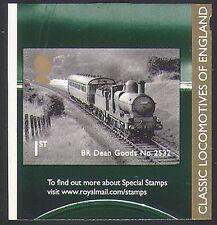 GB 2011 Trains/Steam Engine/Classic Locomotives/Railway/Rail/Transport 1v b8543s