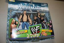 WWE/WWF JAKKS WRESTLEMANIA XV 2 TUFF 3 STONE COLD STEVE AUSTIN & UNDERTAKER