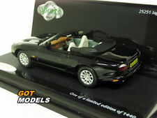 JAGUAR XKR CABRIOLET - 1/43 VITESSE MODEL CAR IN ANTHRACITE 25251