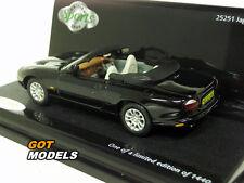 JAGUAR XKR CABRIOLET - 1/43 VITESSE MODEL CAR IN ANTHRACITE 25251