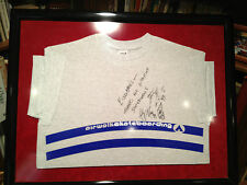 Andy MacDonald Signed to Eisenbergs Airwalk Skateboarding Tee Shirt Framed