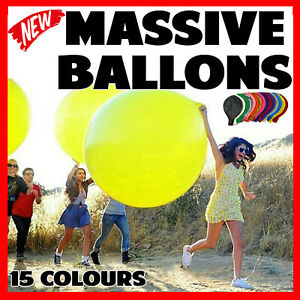 """36"""" INCHES 90cm 3FT BIG GIANT LARGE BALLOON Wedding Party Decoration Birthday"""