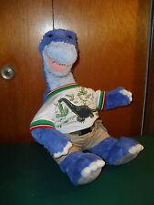 Build a Bear Blue Dino Plush, Boy Dinosaur, includes 1 official outfit
