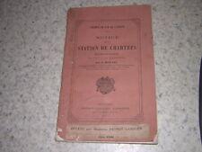 1851.notice sur la station de Chartres / Moutié.train chemin de fer