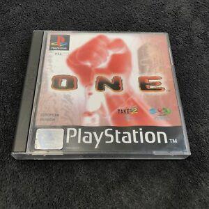 PS1 One Take 2 EUR Bon état