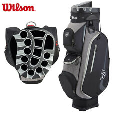 Wilson I Lock III Golf Trolley Cart Bag Black/Grey/White - NEW! 2020 Model