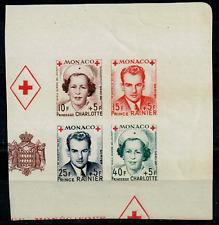 TIMBRES MONACO 1949 BLOC n°334B au n°337B  NEUF** COTE 80€
